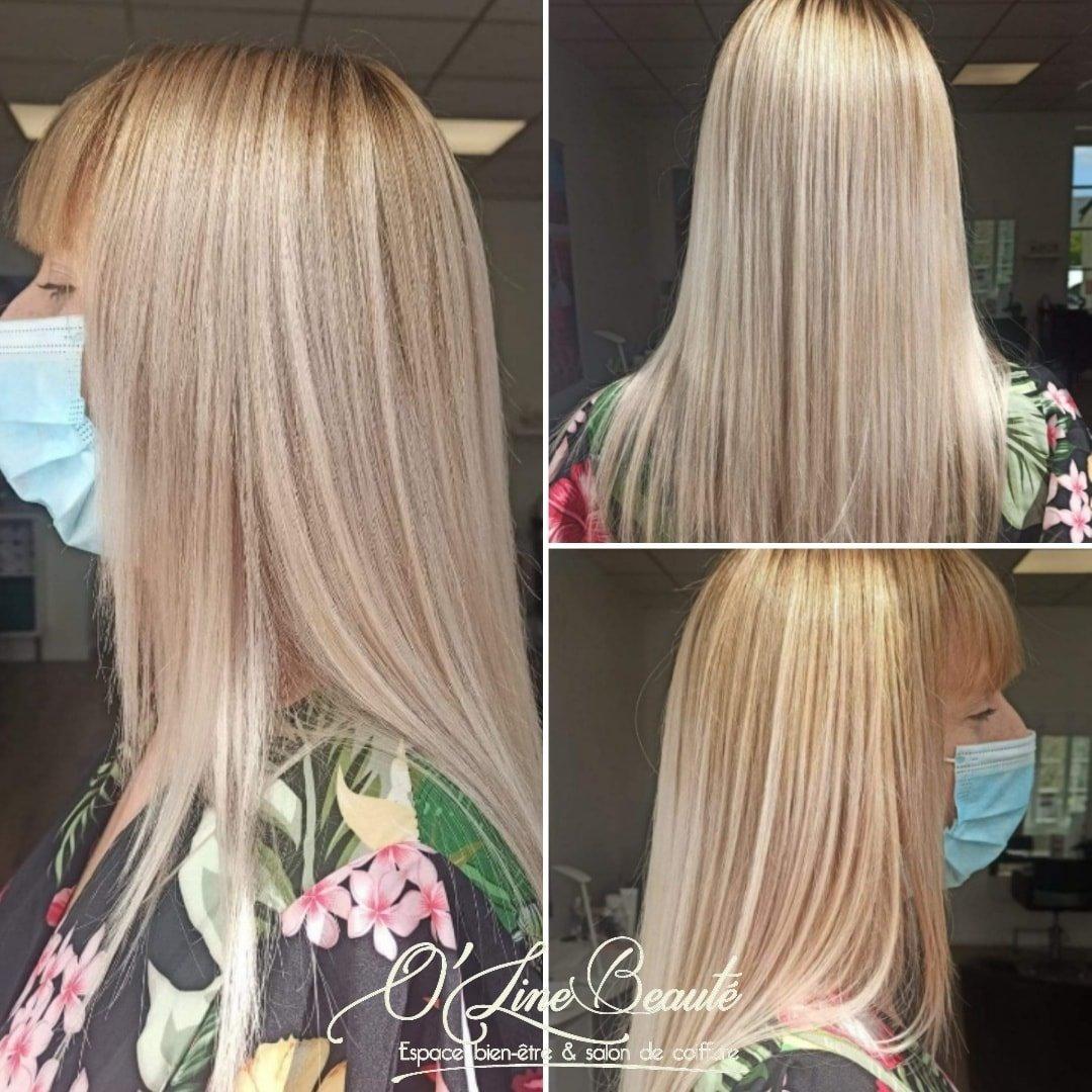 ombré blond