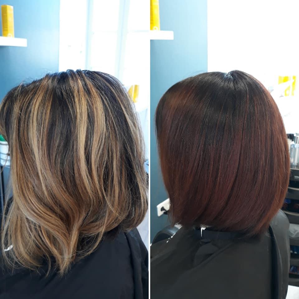 Avant/après couleur